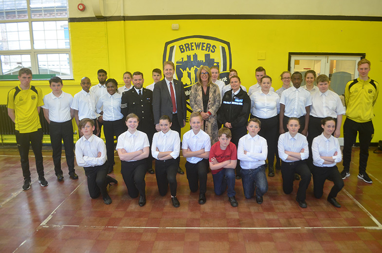 New Burton Cadet Unit gives PCC a grilling