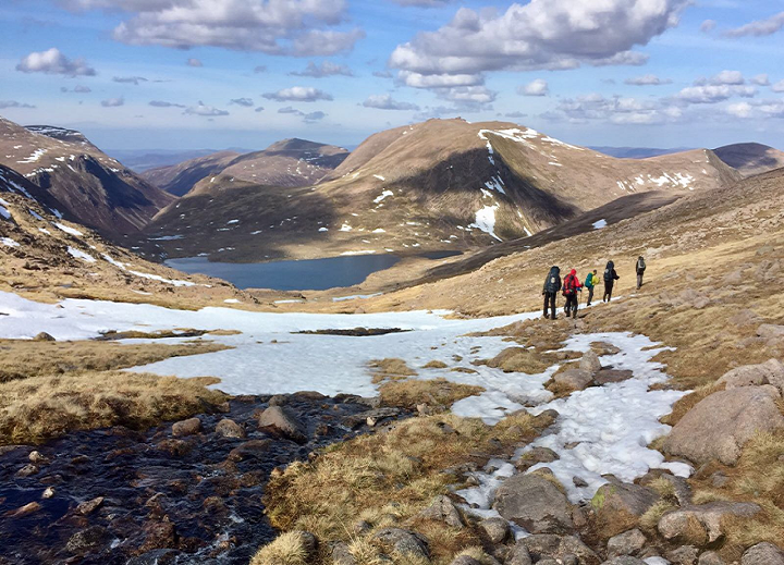 DofE staff training in the Cairngorms