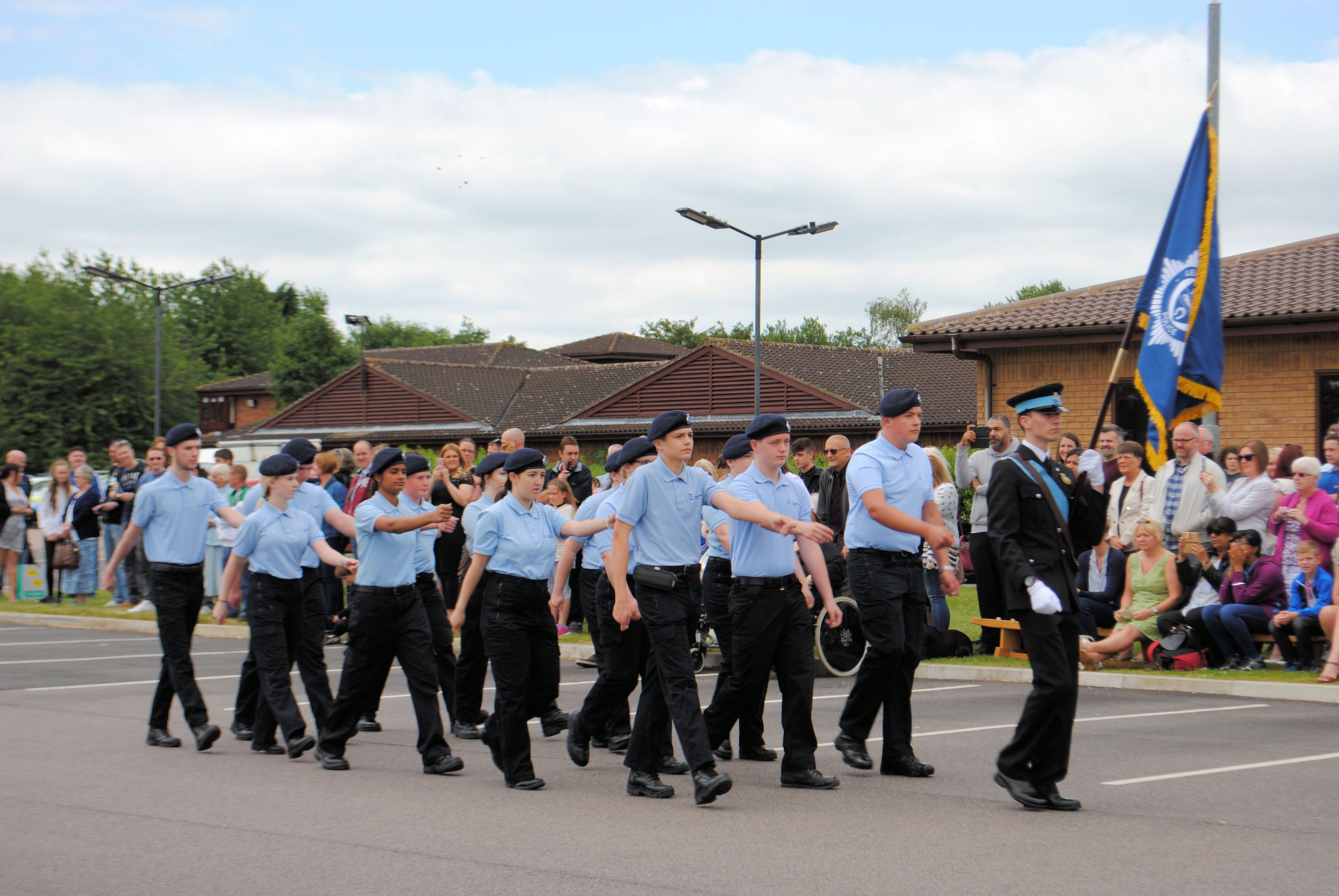 Police Cadet parade ends programme year in style