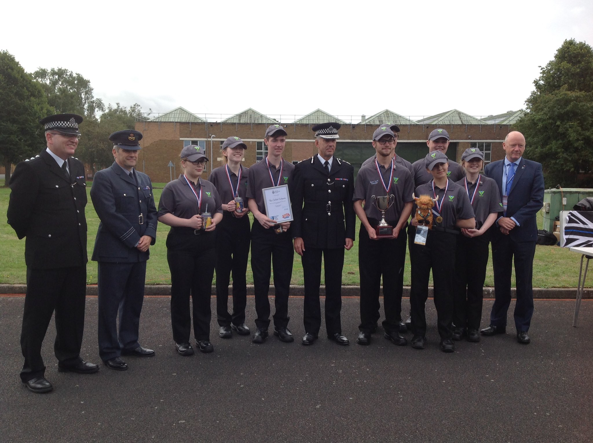 Police Scotland win Annual Volunteer Police Cadets competition