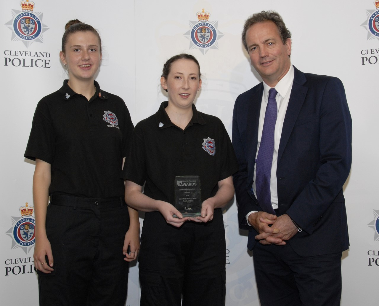 Minister for Policing visits Cleveland Police Cadets
