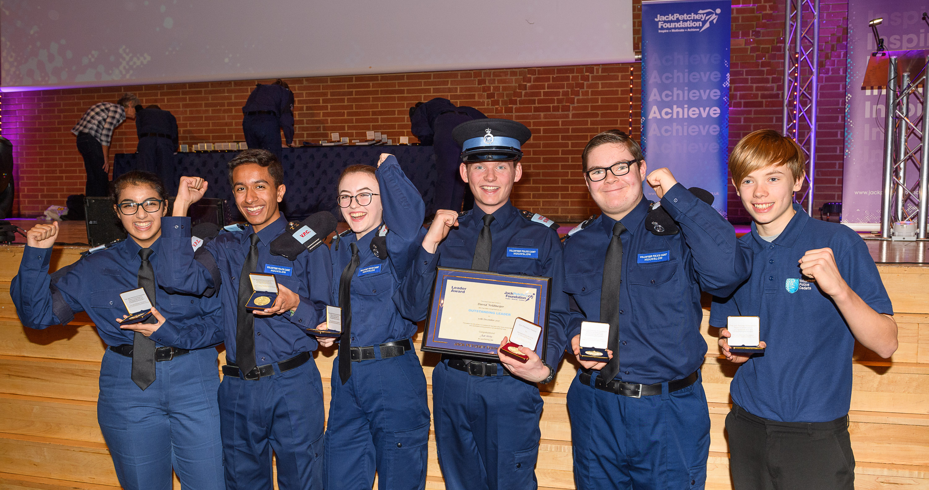 Jack Petchey Foundation recognises Volunteer Police Cadets of North West London for amazing achieve