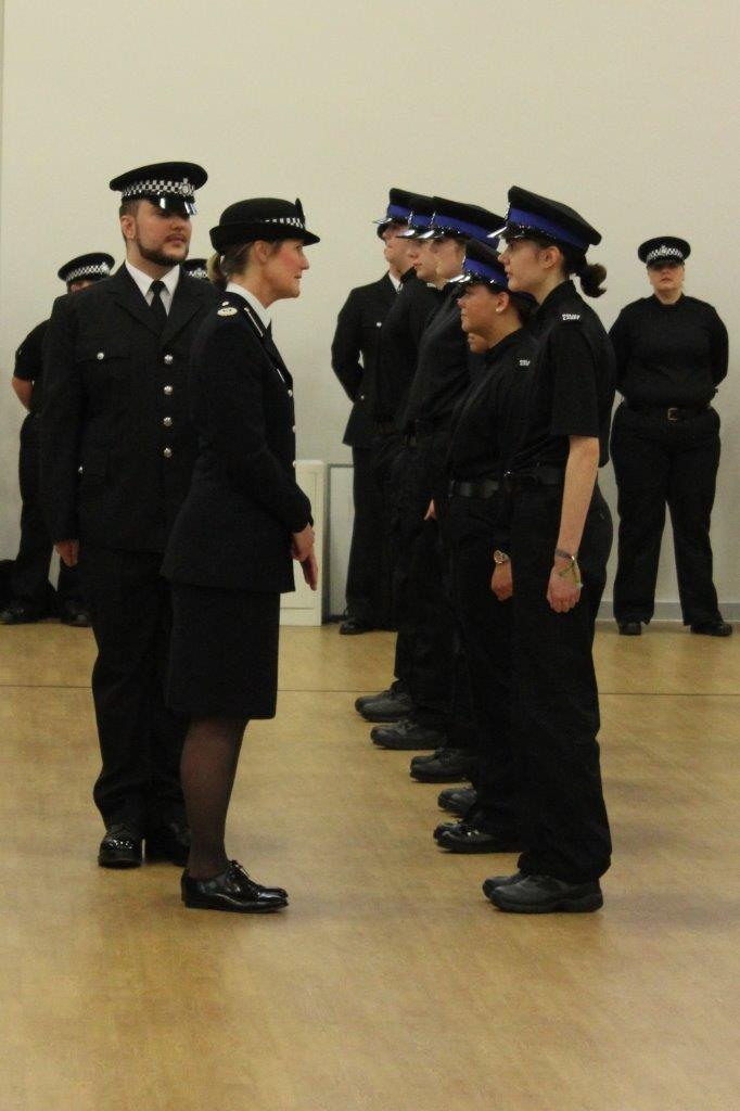 West Yorkshire Volunteer Police Cadets Celebrate at  Leeds Attestation