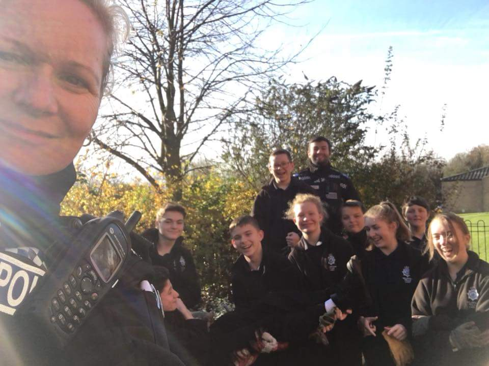 Suffolk Volunteer Police Cadets help Leading Lives Charity