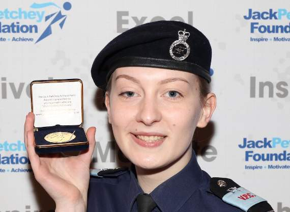 MPS Bromley VPC cadet scoops a Jack Petchey foundation award