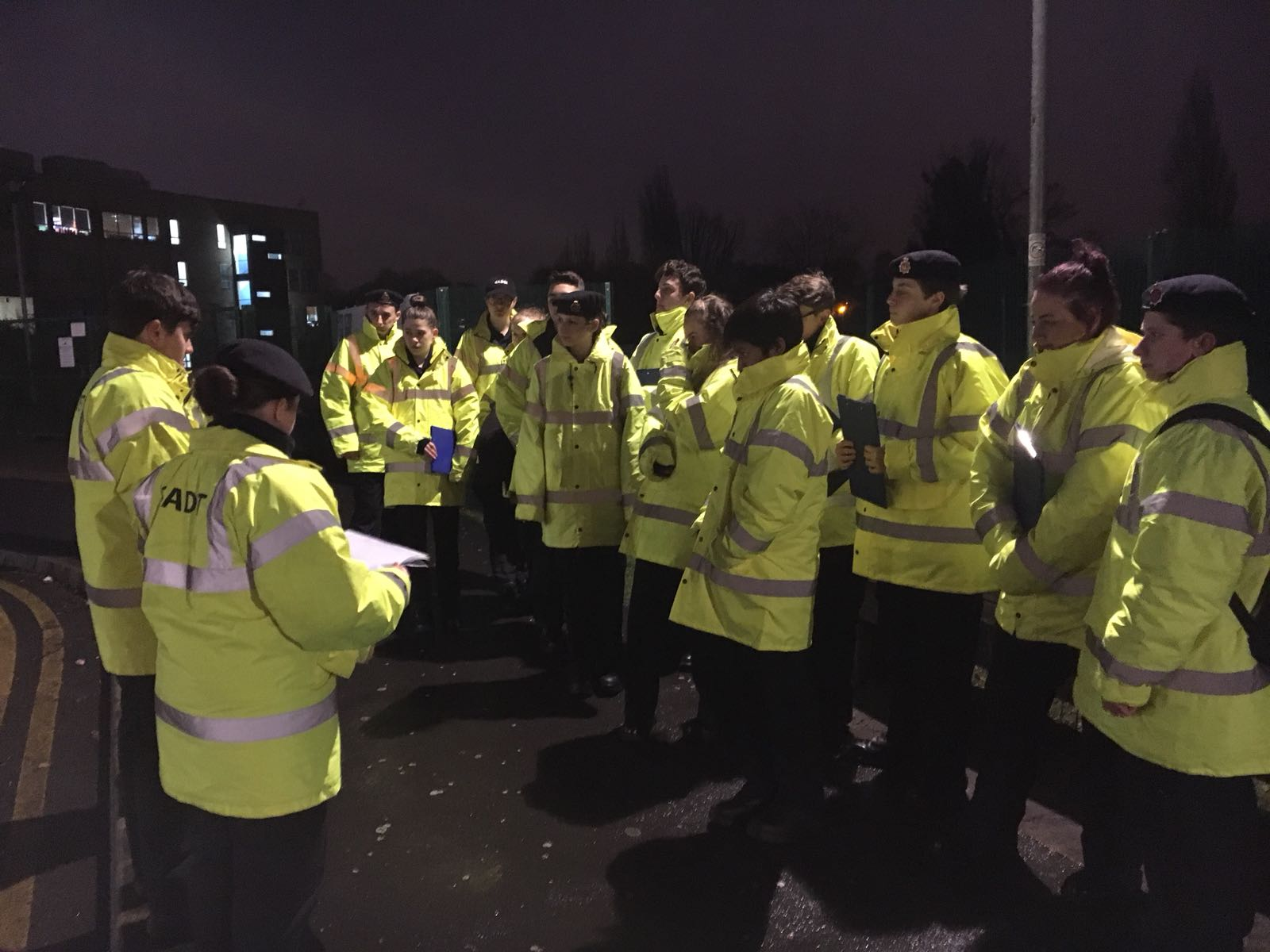VPC Stockport 'On street briefing'