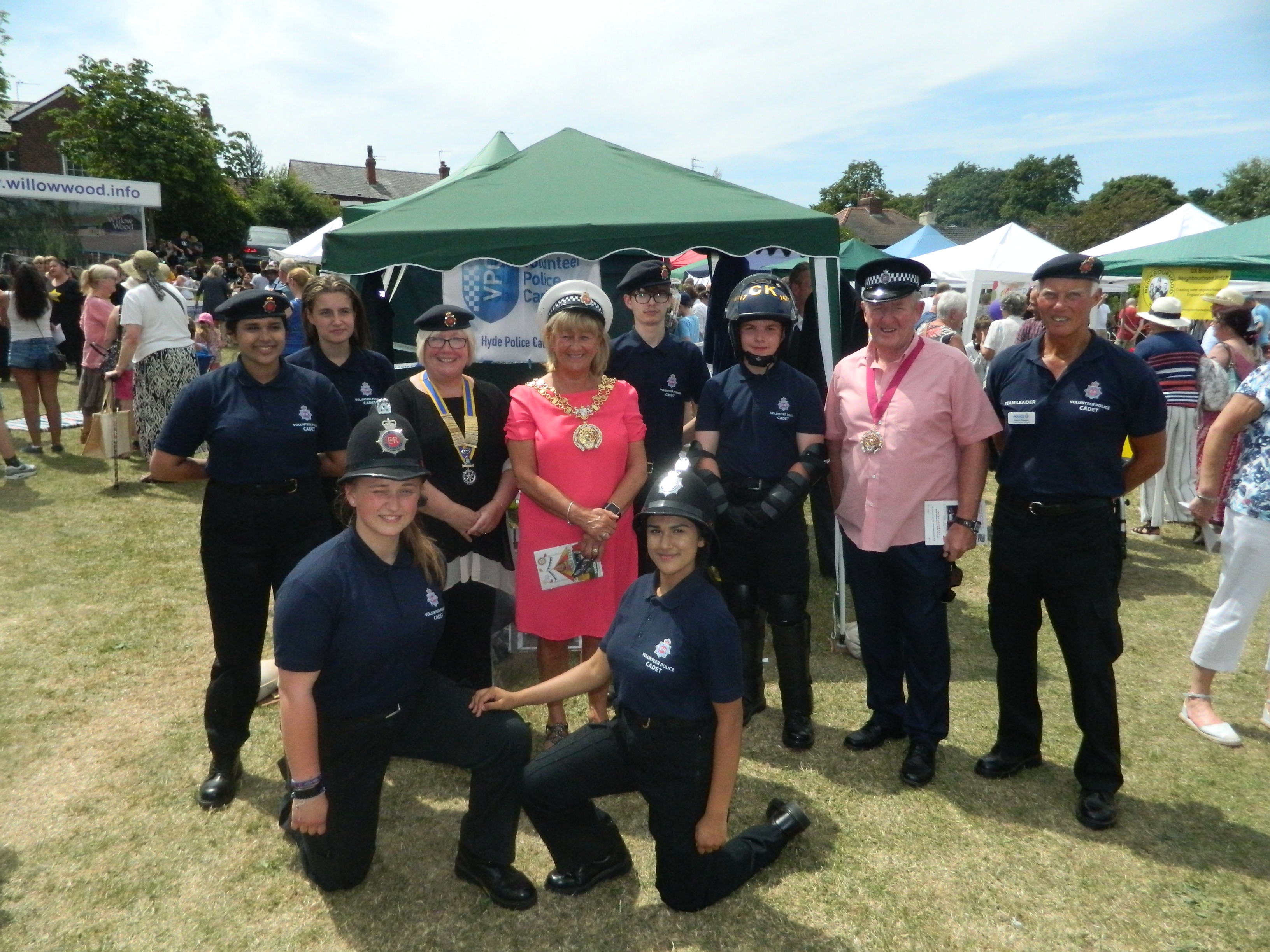 GMP Hyde VPC had fun at the annual Rotary fete