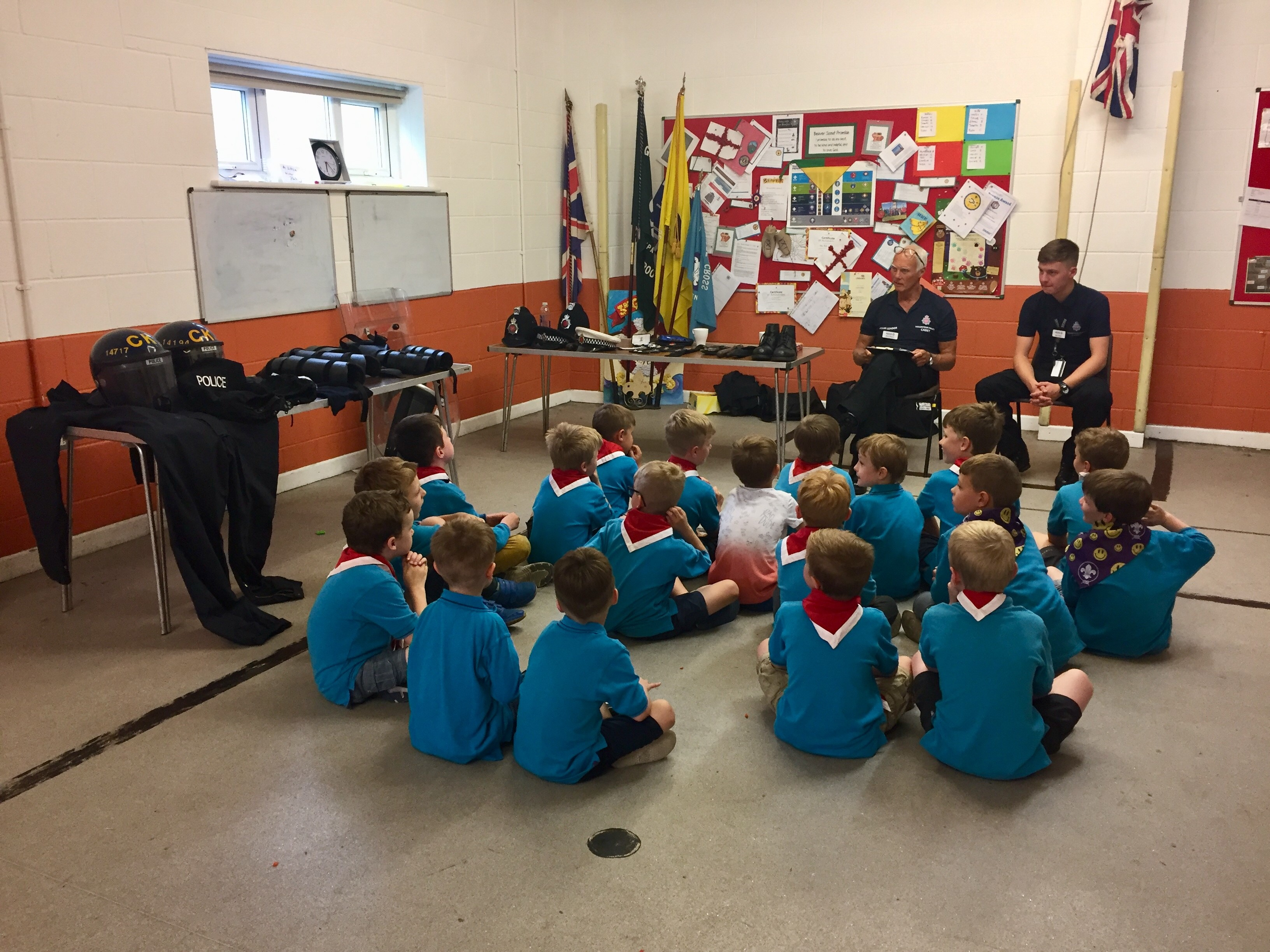 Beavers learning from Hyde VPC Leaders