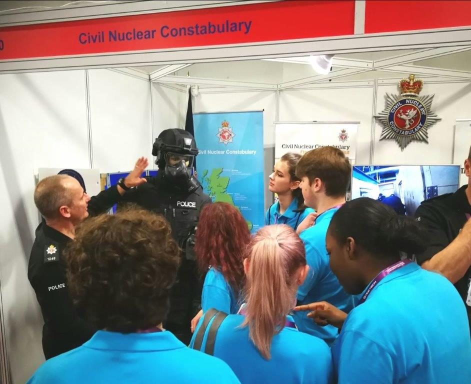 VPC with Civil Nuclear Constabulary officer & Darth Vadar