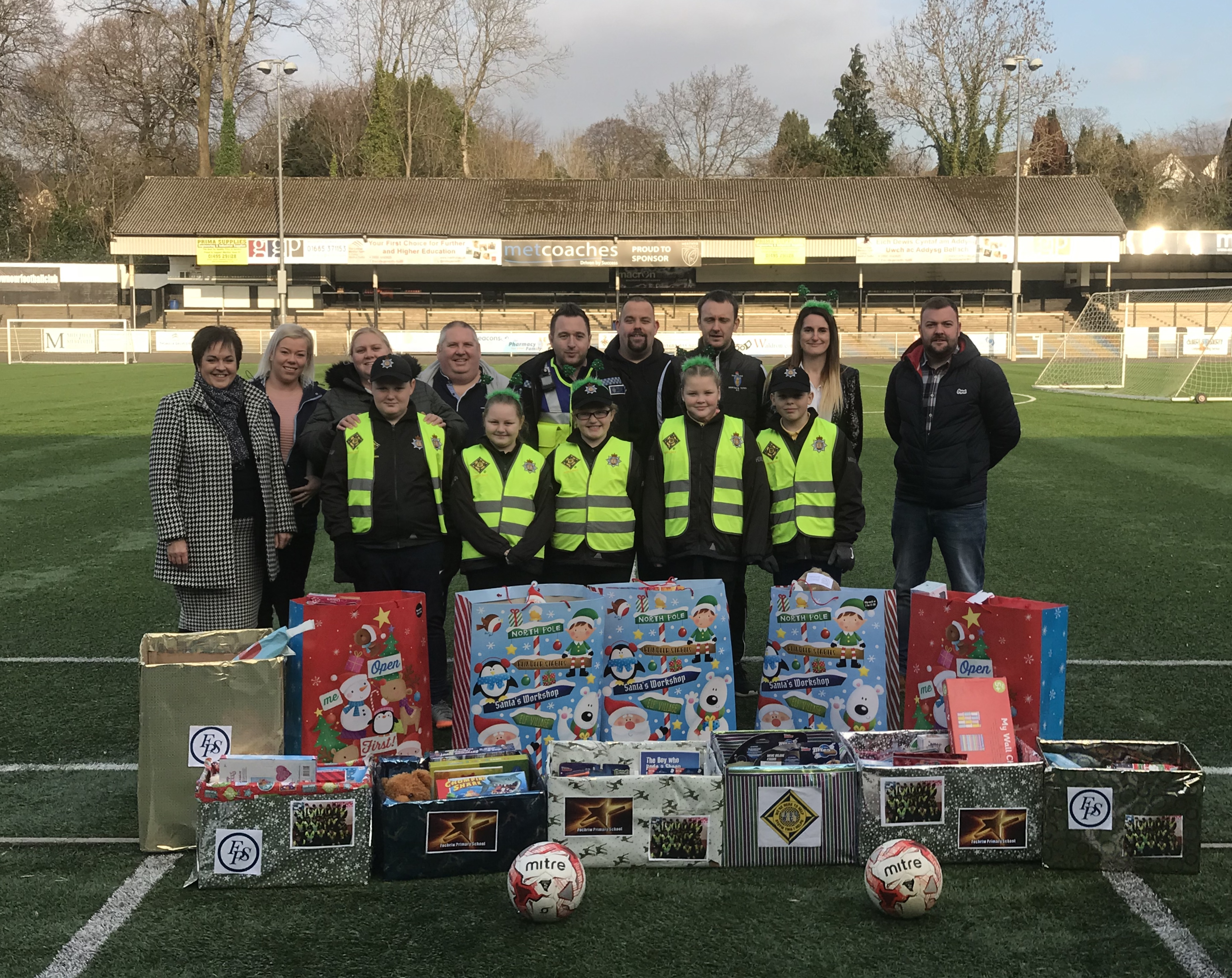 FOCHRIW Primary School's Mini Police Collection - 'The Toys for Grenfell' Appeal