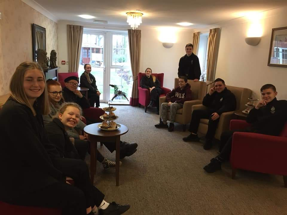 Suffolk VPC- Mildenhall Cadets visit local care home