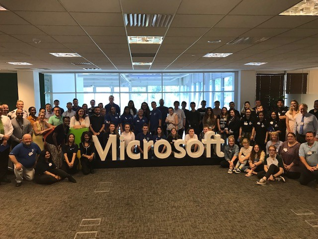 VPC Cadet Voice takes off at Microsoft HQ