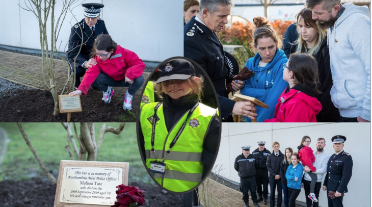 Memory of mini-police officer Melissa Tate will live on