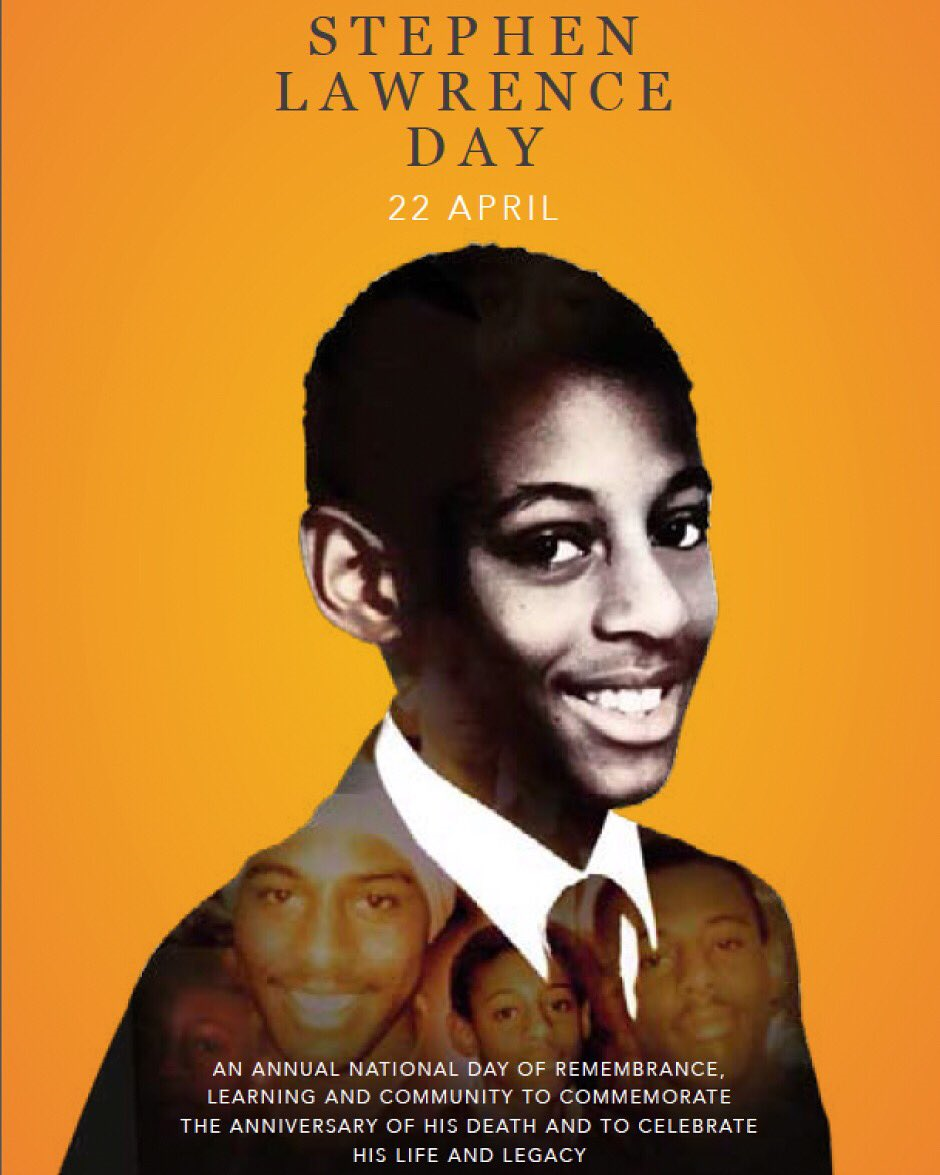 Stephen Lawrence Day 2020