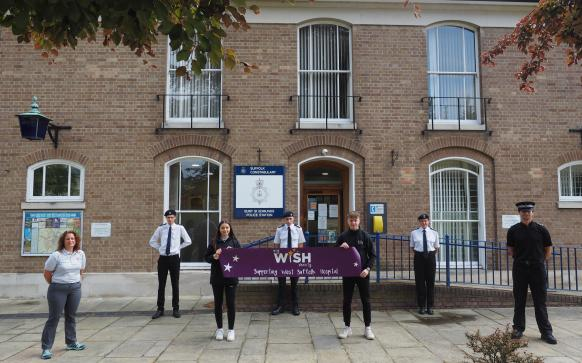 Suffolk Cadets raise hundereds for local charity